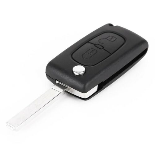2 Buttons Case V2 Car Key Control Cover for PEUGEOT 207 307 308 407 607 T9