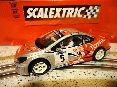 Kinderrennbahnen Angebot Scalextric Peugeot 307 Wrc Condroz-huy 1/32 6 Neu Up-To-Date Styling