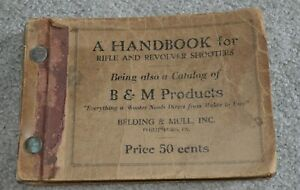 Antique-Belding-amp-Mull-Philipsburg-Pennsylvania-192-page-Handgun-Rifle-catalog