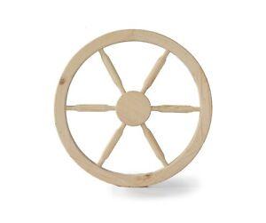 Home garden decorative wheel 50 cm Wooden cart wheel Wooden wagon wheel
