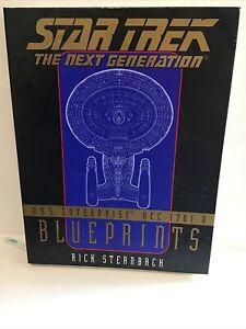 STAR TREK The Next Generation U.S.S. Enterprise NCC 1701 D Blueprints