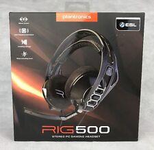 Plantronics RIG 500 Stereo Cuffie Gaming per PC XBOX PLAYSTATION * Gratis P&P REGNO UNITO *