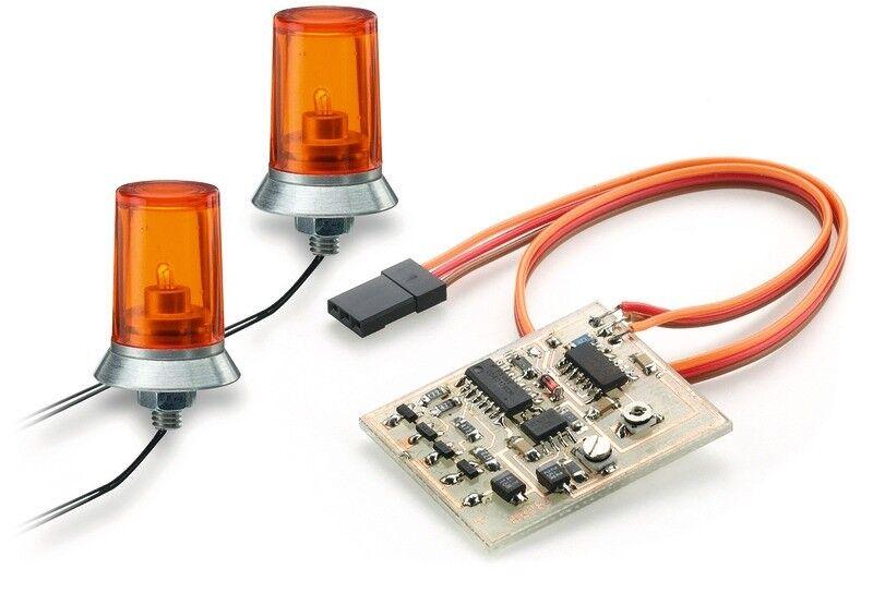 Carson 1 14 dobles luces giratorias naranja - 500907125
