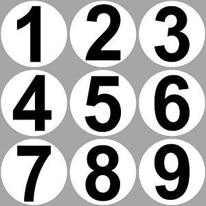 Set-9-Sticker-20cm-Sticker-1-to-9-Start-Number-Pay-Racing-Motor-Sport-Car