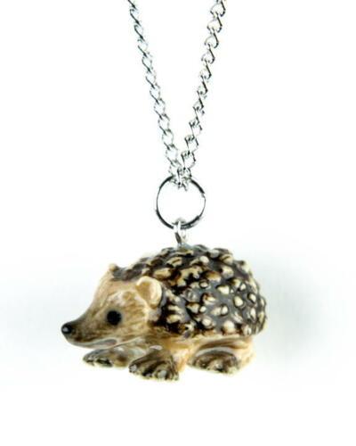 Little Critterz Porcelain Hedgehog Pendant 120107