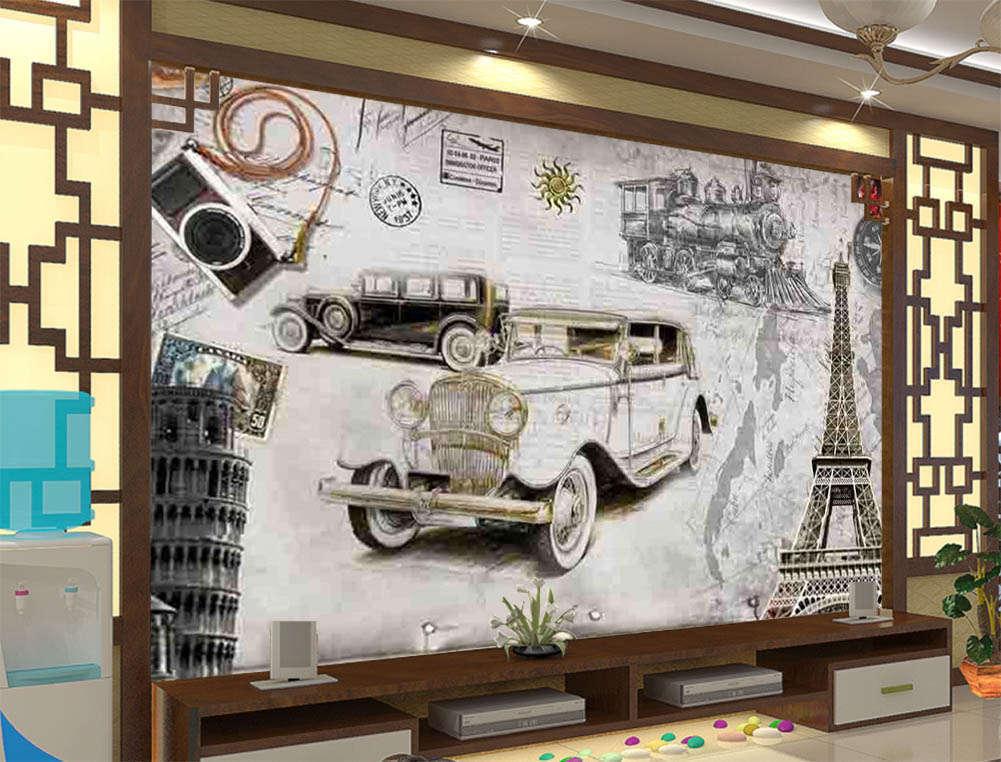 The Symbol Of An Era 3D Full Wall Mural Photo Wallpaper Printing Home Kids Decor