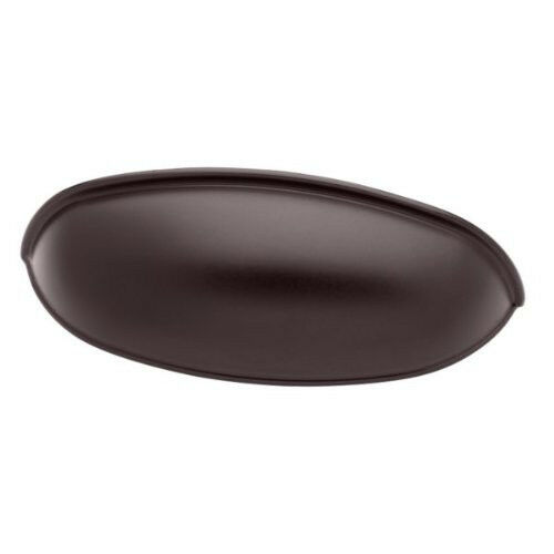 """PN1053L-OB3 Oil Rubbed Bronze 2 1//2/"""" /& 3/"""" Cup Style Cabinet Drawer Pull"""