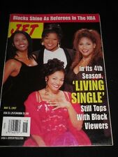 JET MAGAZINE MAY 1997 LIVING SINGLE QUEEN LATIFAH BLACK REFEREES IN THE NBA