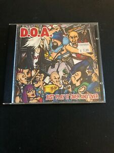 D-O-A-Just-Play-It-Over-And-Over-Again-CD-EP-Punk-Rock-Canada-DOA