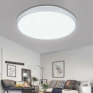 50W LED Deckenleuchte Sternenhimmel Wandlampe Wohnzimmer Badleuchte Warmweiß