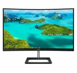 """Philips 328E1CA 32"""" curva LCD Monitor con Ultra Gran Color Negro ("""