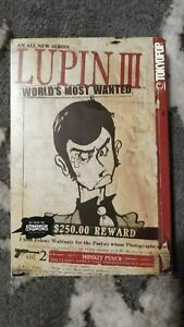 LUPIN-III-the-3rd-WORLD-039-S-MOST-WANTED-VOLUME-2-Tokyopop-USA-2004-Manga