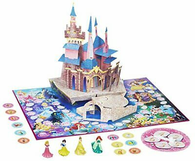 HASBRO Disney 3D Princess Pop-Up Magic Castle Game Toy Play 4 Princesses Age 3+