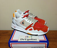 Le Coq Sportif X Hal R 1000 White Leather Red swan Pack Highs And Lows