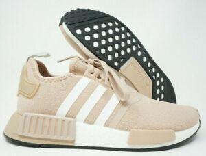 Adidas Womens Nmd R1 Running Shoes Ash Pearl Fv2474 Multi Size Ebay