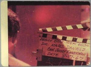 Star-Trek-TOS-35mm-Film-Clip-Slide-I-Mudd-Clapper-Board-Harry-Mudd-2-8-1