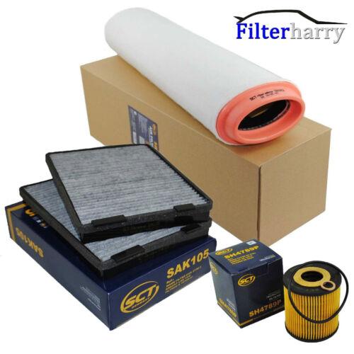 Intérieur Filtre pollen filtre charbon actif filtre à air filtre à huile BMW e39 525d 530d