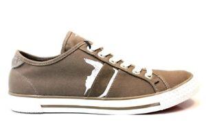 Scarpe-da-uomo-Trussardi-Jeans-77S520-casual-sportive-basse-sneakers-in-tela
