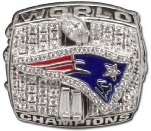 Goodies Bague Chevaliere NFL Tom BRADY New England PATRIOTS Superbowl 2001 neuve
