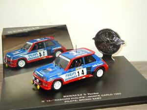 Renault-R5-Turbo-1982-Rallye-Corte-Ingles-Eagle-Collectibles-1-43-Box-31447