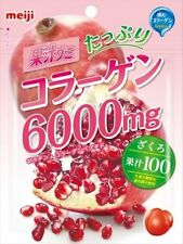 meiji☀Japan-Collagen 600mg 100 % Pomegranate Juice Gummy candy 80g