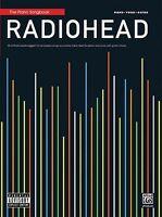 Radiohead Sheet Music Piano Vocal Guitar Songbook 000322394