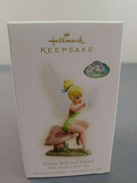 Hallmark Keepsake Ornament 2008 Tinker Bell and Friend Disney Peter Pan