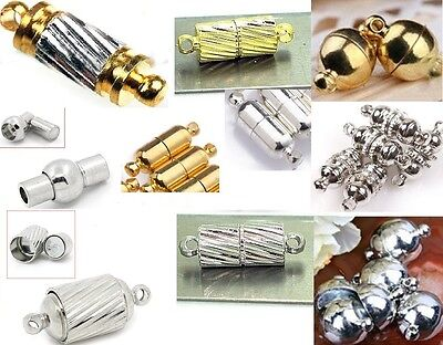 Magnetic Clasp For Bracelet Necklace Strong Magnetic connector MANY STYLES
