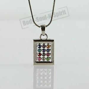034-Hoshen-Shield-034-Collar-judio-Israel-Judaica-Colgante-Amuleto-Joyeria-Cabala