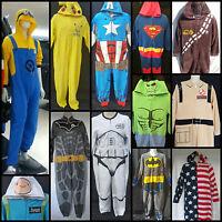 Primark All In One Mens Pyjamas Sleep Suit Adult Onesie Romper Dress Up