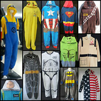 Primark All In One Mens Pyjamas Sleep Suit Adult Onesie Romper Dress Up