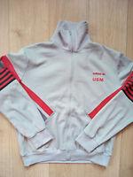 Adidas Originals 80's 90's Vintage Mens Tracksuit Top Jacket Made in France