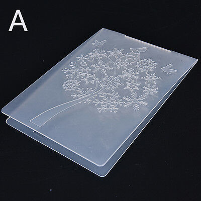 Embossing Folder DIY Scrapbooking Album Card Cutting Dies Template Craft DSUK