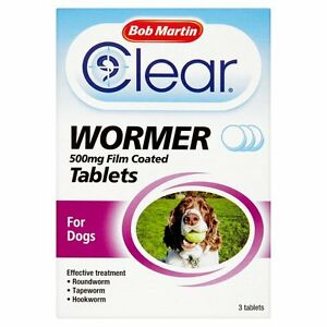 Bob Martin Clear All in One Wormer Tablets for Dogs 3 Tablets - <span itemprop=availableAtOrFrom>workington, Cumbria, United Kingdom</span> - 1) If buyers are in any way not satisfied with your item, please let us know as soon as possible, item must be in its original condition and should be returned with in 30 days - workington, Cumbria, United Kingdom