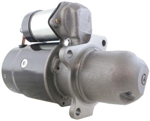 New USA BUILT 12 Volt Starter fits Allis Chalmers Lift Truck AC-P 40 50 10455318