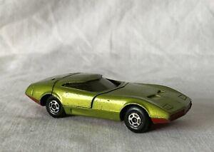 Vintage-Matchbox-Lesney-Diecast-Coche-de-Juguete-Superfast-52-Dodge-Cargador-MK-III-1970