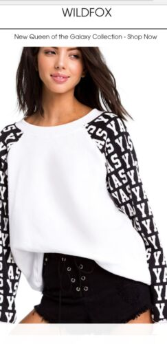 Femmes Yas Xs Sommer Pull Taille Nwt Wildfox QdCtshr