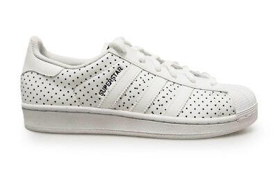 Womens Adidas Superstar W-S79589-White Navy Sneakers | eBay
