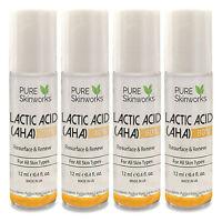 Lactic ACID AHA SKIN PEEL 20% 40% 60%  80% ACNE TREATMENT  LIGHTENING WRINKLES