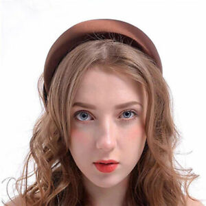 Fashion-Lady-Women-Padded-Headband-Hairband-Hair-Bands-Hoop-Accessories-Headwear