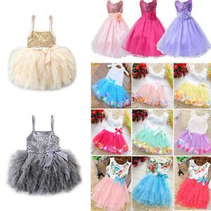 Kids Baby Girls Party Dressy Sequin Tutu Dress Wedding Formal Dresses Princess Ebay,Wedding Dress Socks