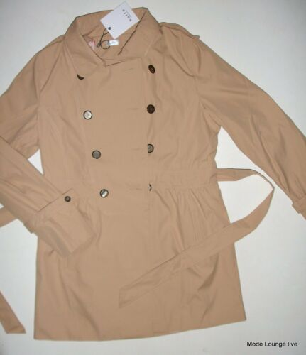 Susanna Jacket Sand Gr New Mantel 38 Jacke Kaffe Neu Beige Trench M Coat 7x5AS0q