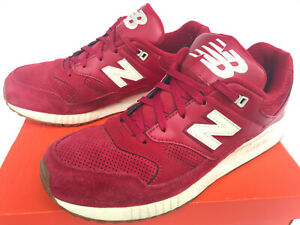 red suede new balance shoes