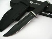 Browning Black Label G-10 Point Blank Tactical Blood Groove Knife + Sheath 111bl