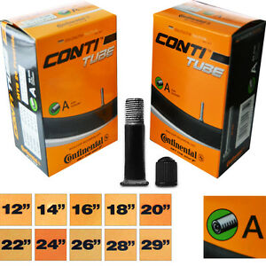 2x-Continental-Schlauch-Compact-10-034-11-034-12-034-44-62-194-222-A-Fahhrad-Tube-1Paar