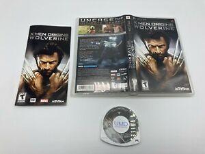 Sony-PlayStation-Portable-PSP-UMD-Tested-Complete-X-Men-Origins-Wolverine