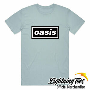 Official Oasis Definitely Maybe Noel Liam Gallagher Band T-Shirt