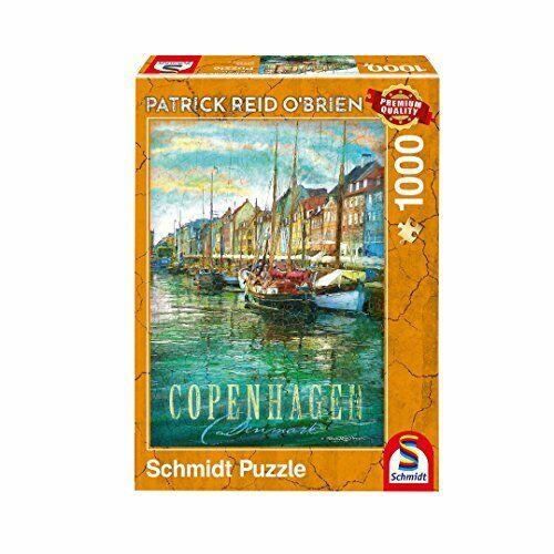 1000 pièces Schmidt Jeux Puzzle 59583 Patrick Reid O /'Brien Copenhague