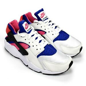 Details about NWT Nike Air Huarache Run '91 OG QS Royal Blue Pink Mens Sneakers 2017 AUTHENTIC