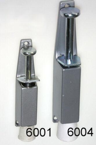 Türfeststeller LIE 6001 aus ALU silber 130 mm mit 30 mm Hub kleine Ausführung